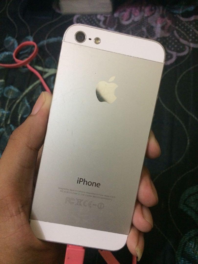 iPhone 5 32gb   iPhone 4 6gb (banyak minusnya) 56b0c0b5c9