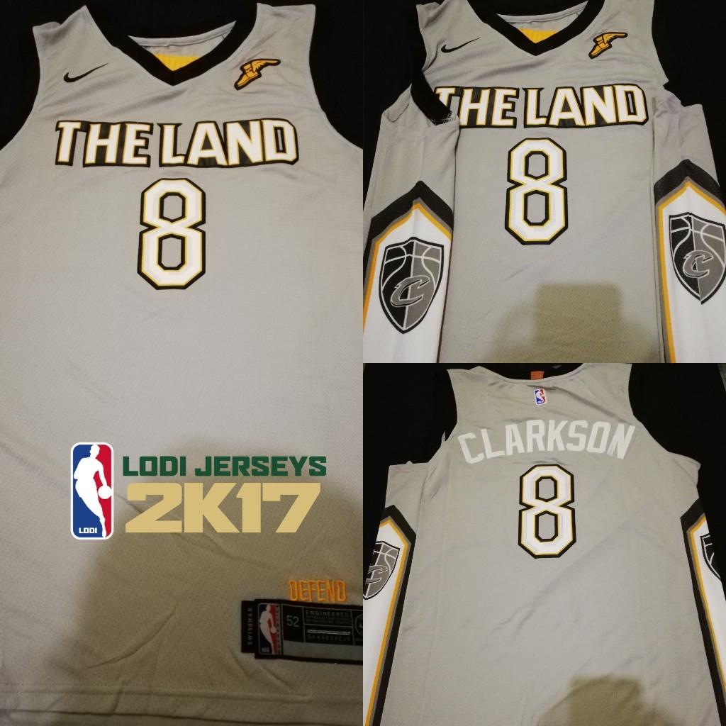 cheap for discount b8722 637fd Jordan Clarkson Cavs Jersey, Sports, Athletic & Sports ...