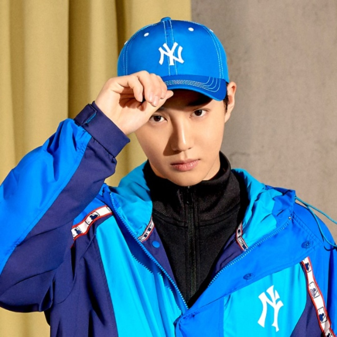 Preorder MLB x Exo Suho Original Ball Cap 9439a3a6f44