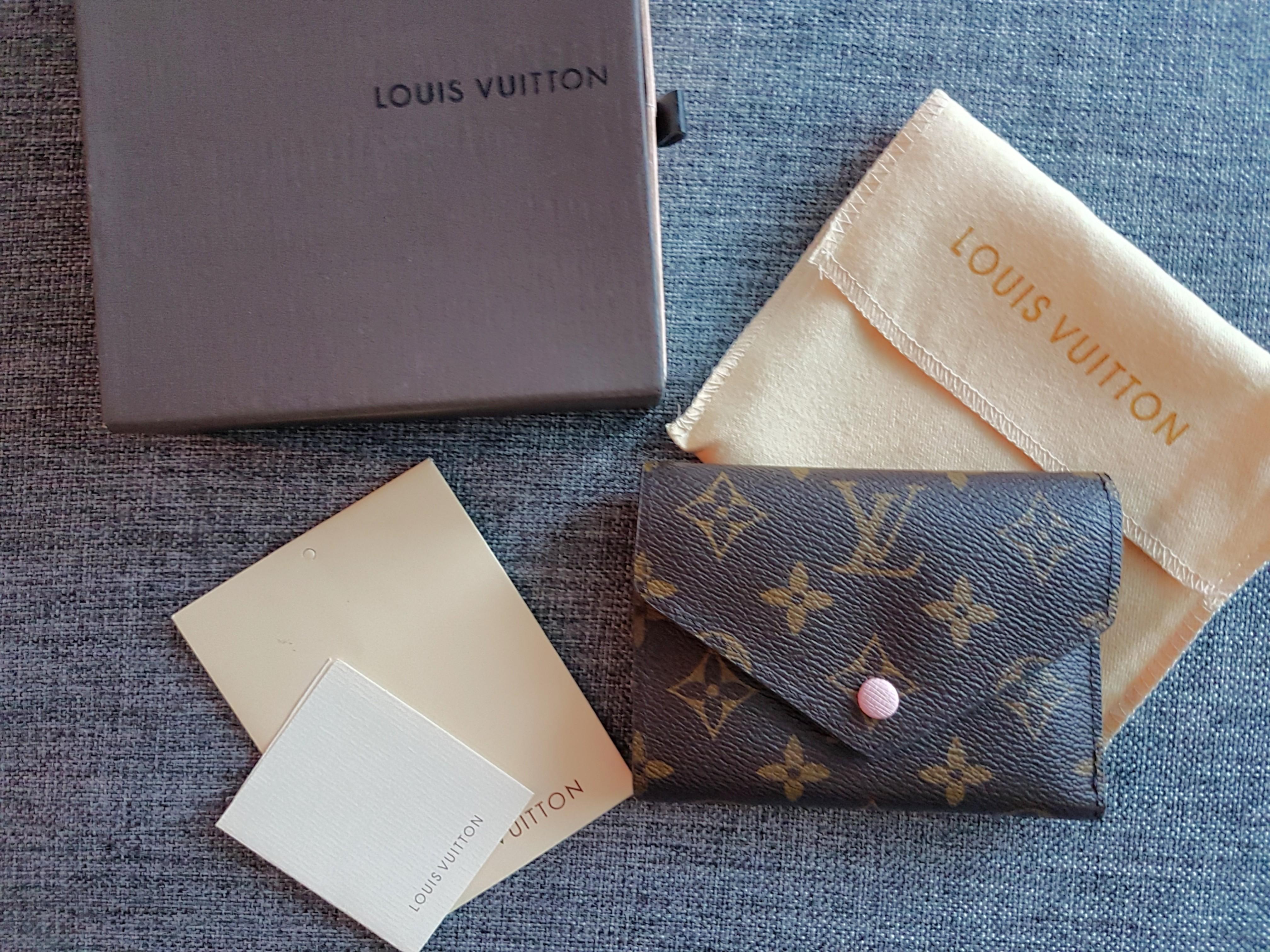 LV Victorine Wallet in rose ballerine (replica)
