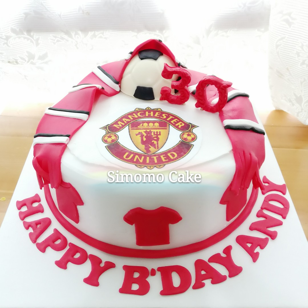 manchester united birthday cake pictures manchester united birthday cake pictures