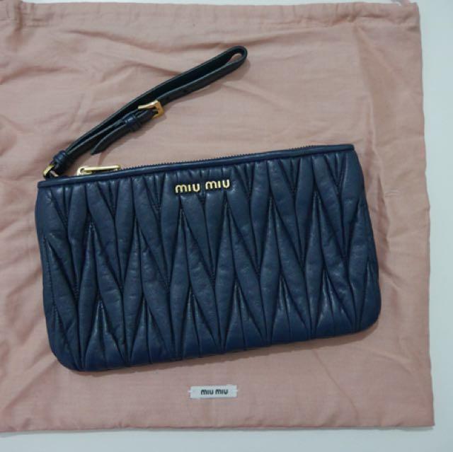 MIU MIU Purse pouch wallet **100% Authentic**
