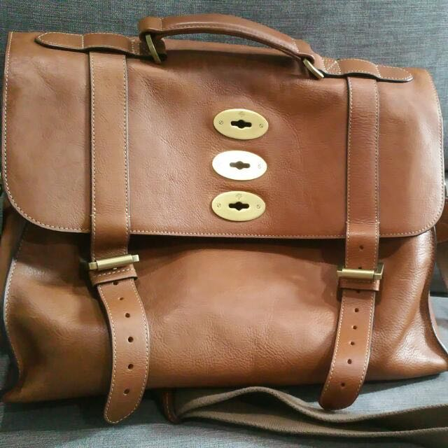 23598bd8bf Mulberry Ted Oak Messenger Bag
