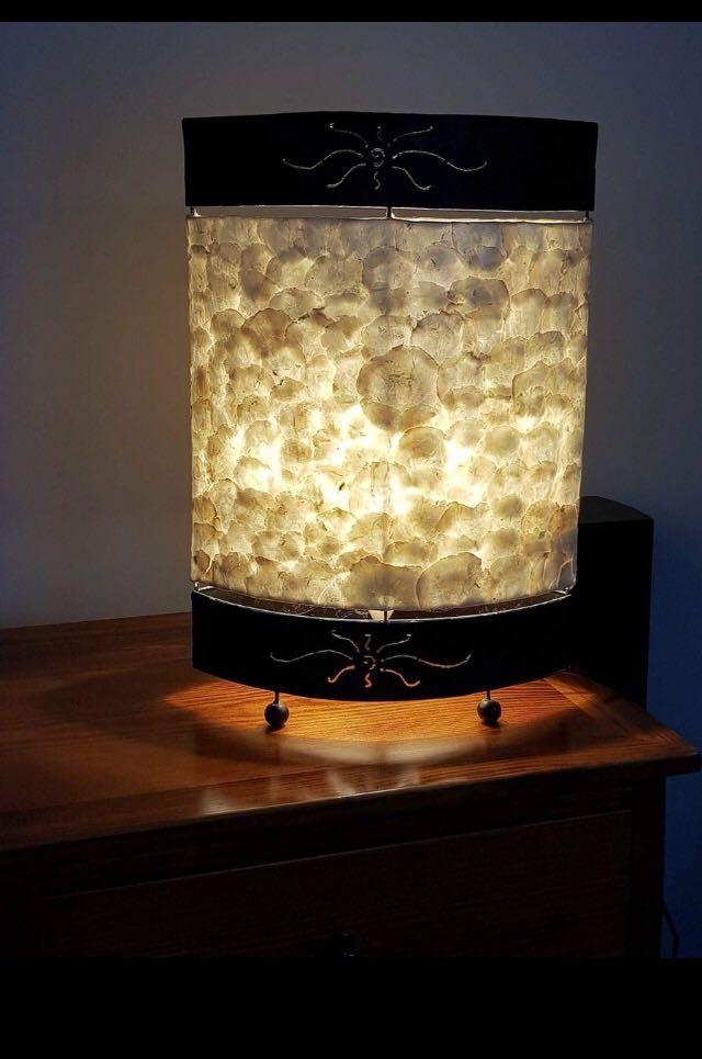 Natural Shell Lamp