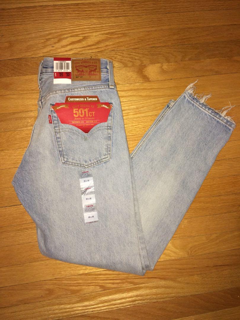 NEW $168 Levi's 501 denim jeans!