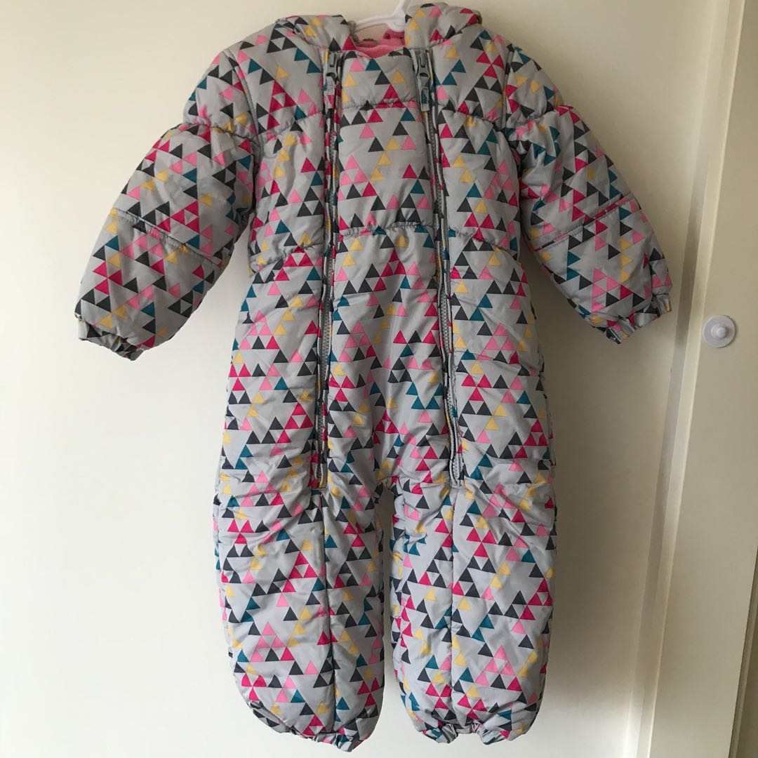 Next Toddler Girl Snow Onesie