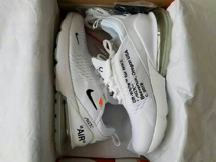 5efcf1f68a Nike Air Max 270 (OFF WHITE), Men's Fashion, Footwear on Carousell