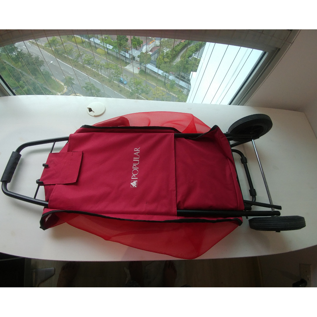 Popular Bookstore Trolley Bag Furniture Others On Carousell