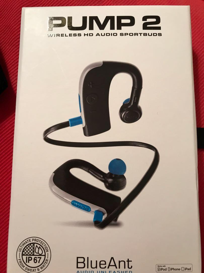 Pump 2 earphone