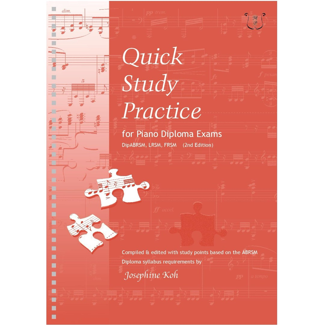 Quick Study Practice for Piano Diploma Exams (2nd Edition)