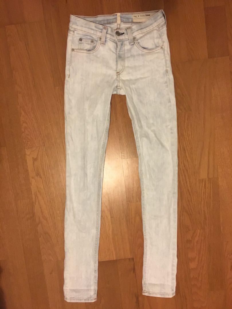 Rag & bone skinny jeans