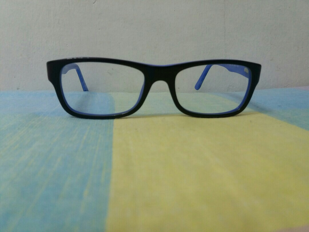 0675a26e7b4 Ray Ban Eyeglasses Rx5268 5179 Black on Blue Plastic Frame 50mm ...