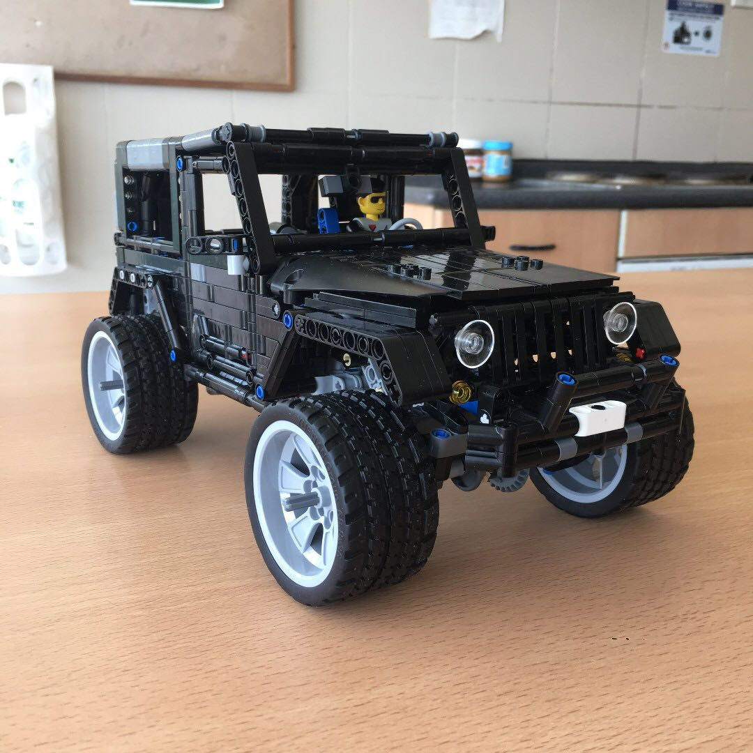 ready moc jeep wrangler moc 8863 not lego mixed lepin. Black Bedroom Furniture Sets. Home Design Ideas
