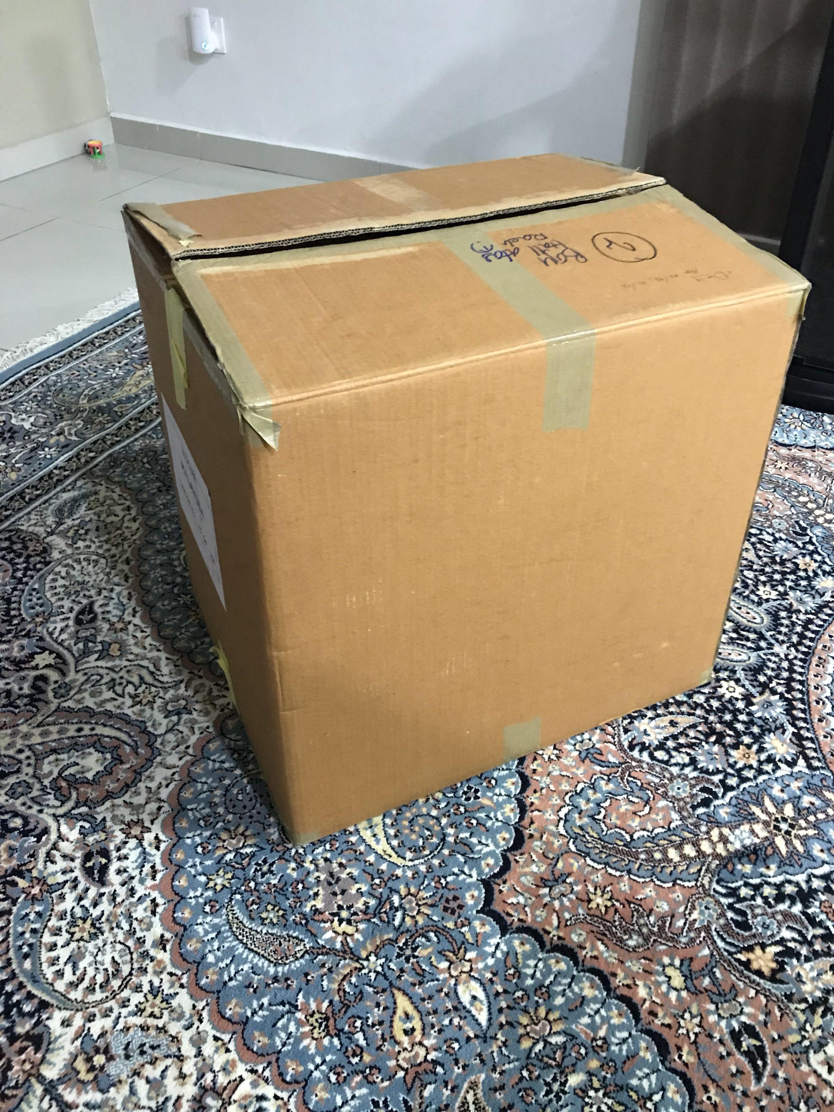 Recycle Boxes (20 units @ RM1 per unit)