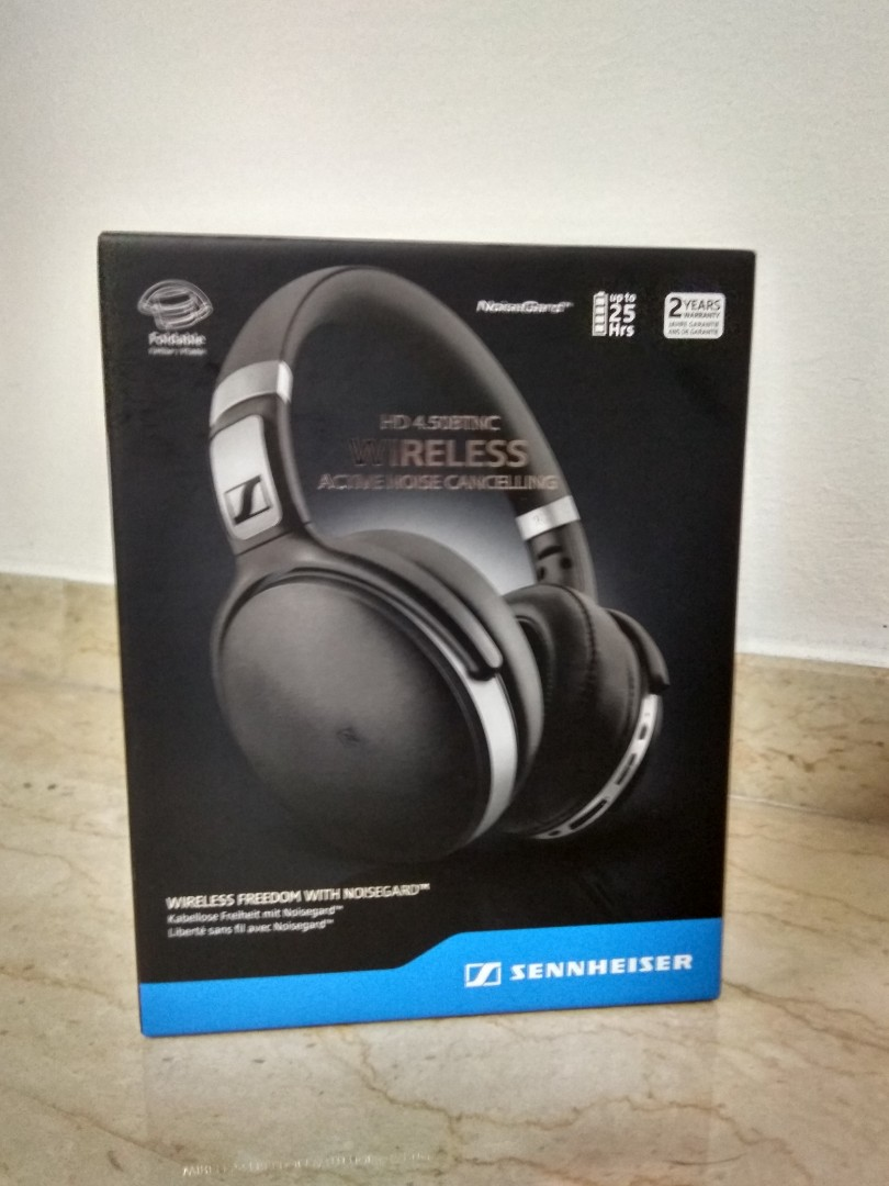 fe89936b957 Sennheiser HD 4.50 BTNC Wireless Bluetooth Active Noise Cancelling ...
