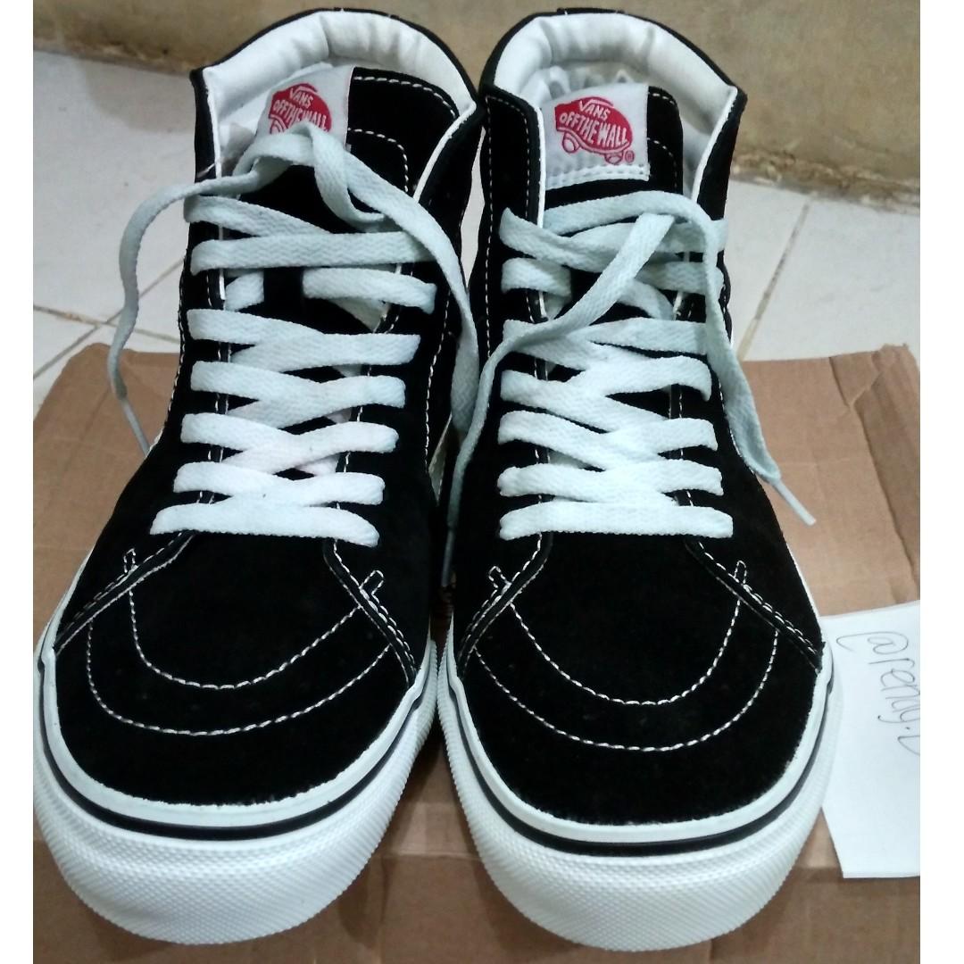 062c25f85e Sepatu Vans SK8 bw japmar original not Adidas converse