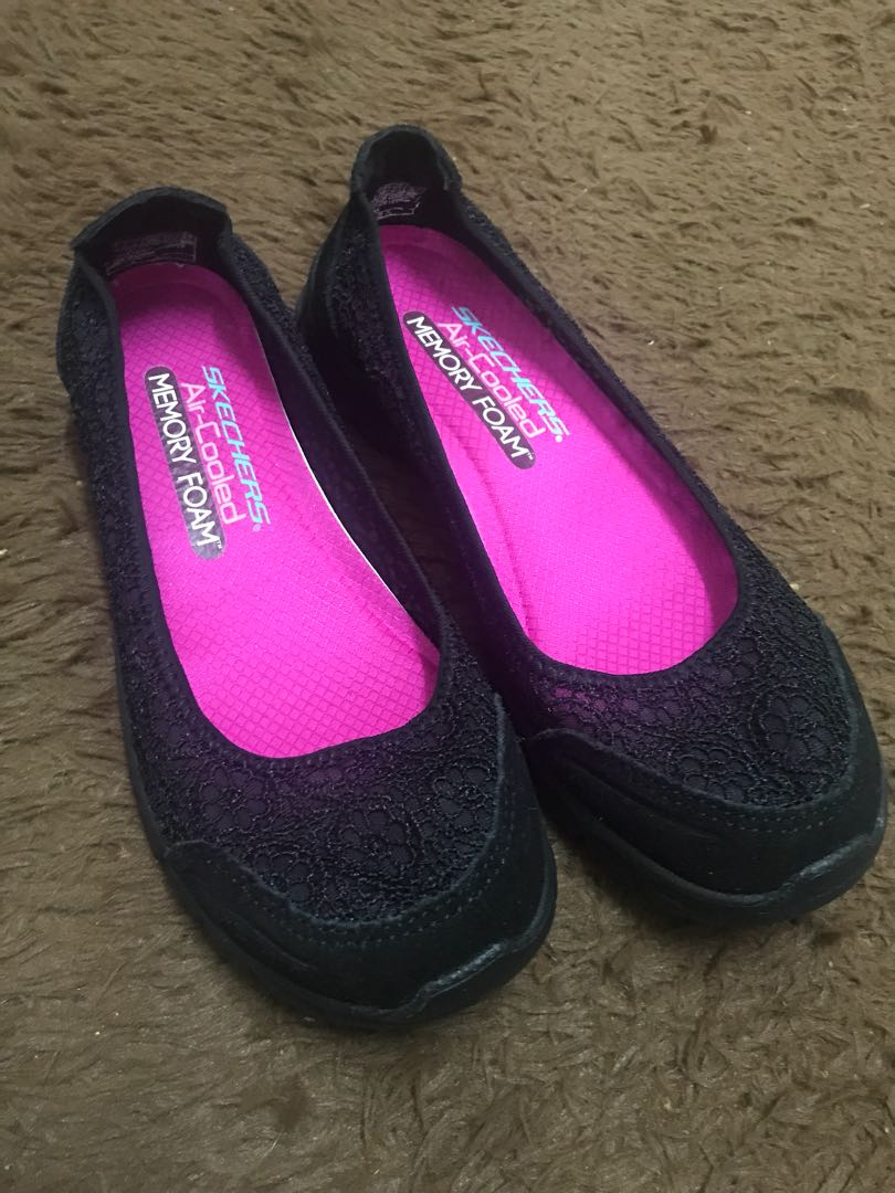 Skechers Crochet Ballet Flats Womens Fashion Shoes On Carousell