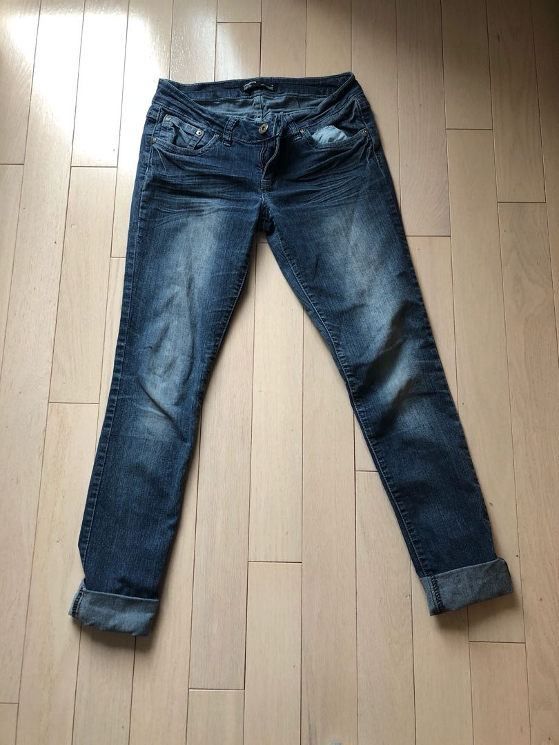 Skinny Fit Size 7 Jeans