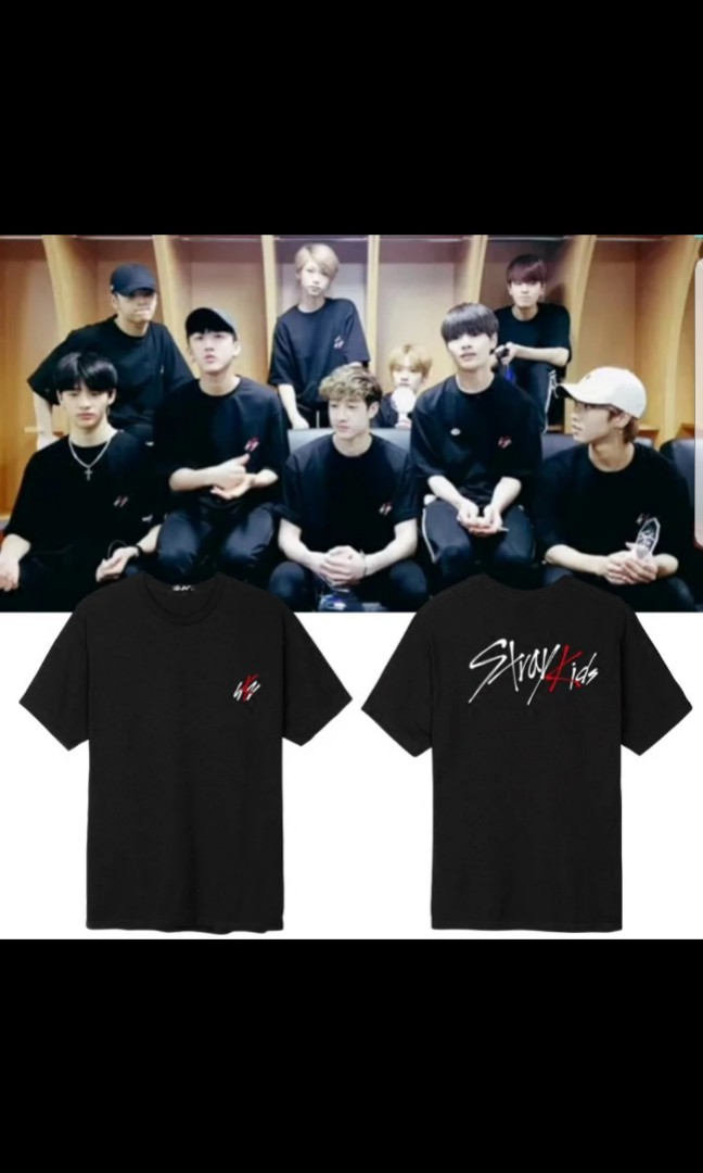 722ddb227 Stray kids shirt, Entertainment, K-Wave on Carousell