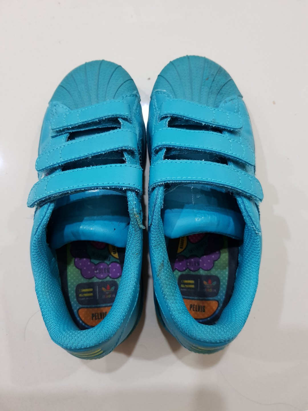 916d2c373 Adidas Toddler Superstar Supercolor Pharrell Williams Limited Edition