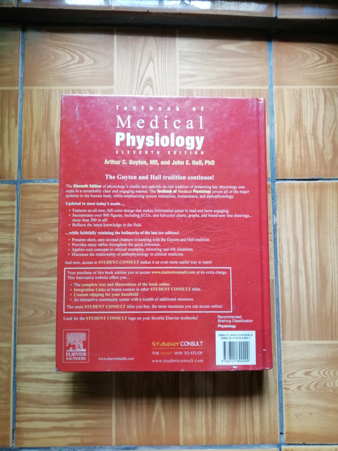 Textbook of Medical Physiology 11th edition (Guyton & Hall ...
