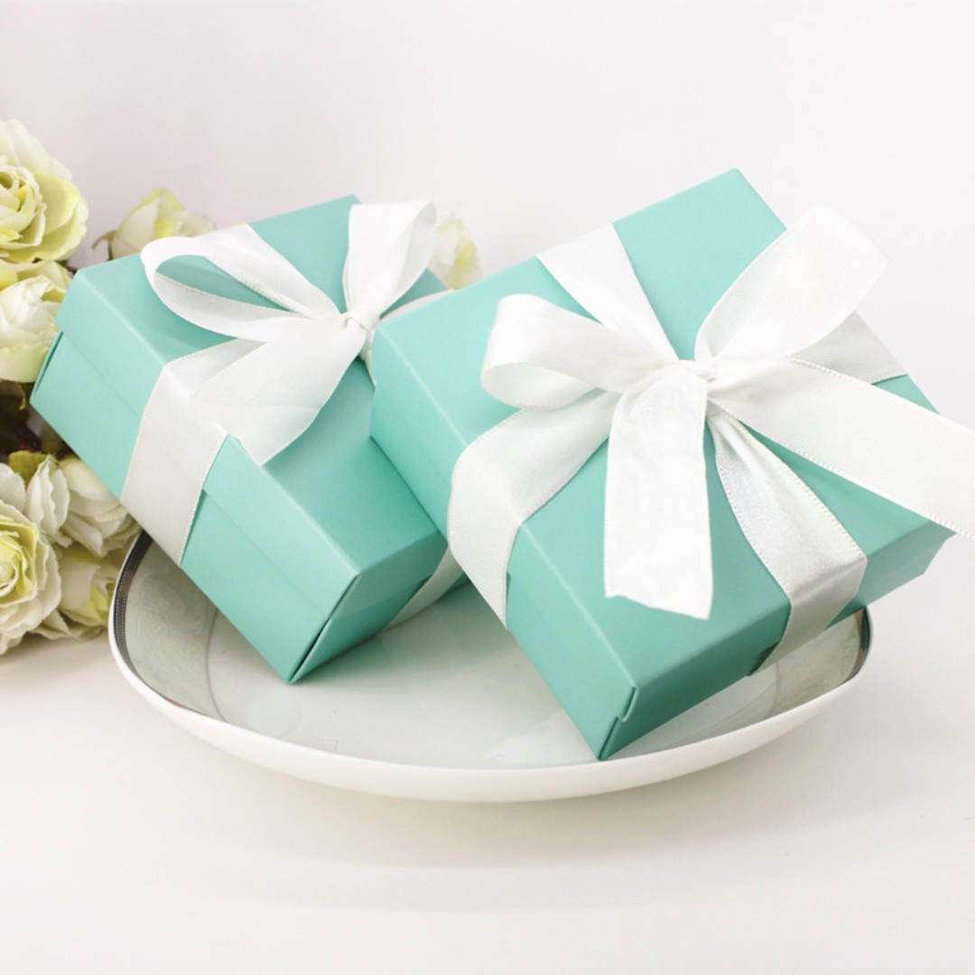 Tiffany Candy Box/ Berkat/ Doorgifts, Design & Craft, Others on ...