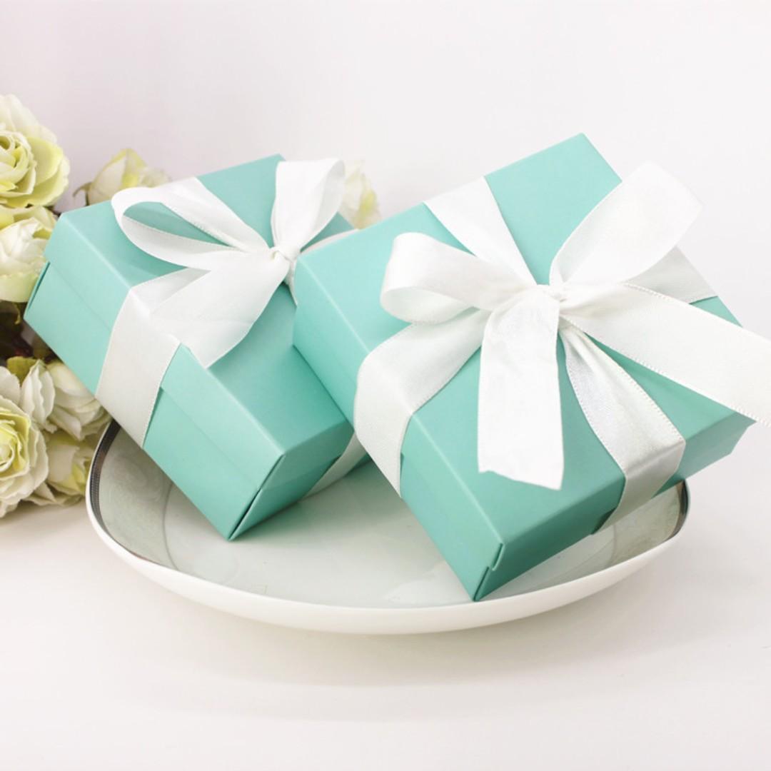 Tiffany Candy Box/ Berkat/ Doorgifts, Design & Craft, Others on ...