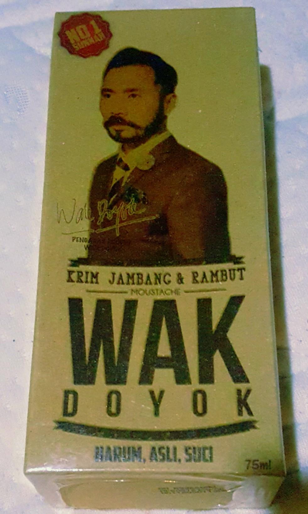 Wak Doyok Krim Jambang Rambut Bulletin Board Looking For On Carousell