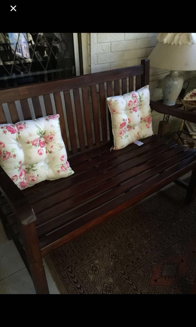 Wooden two seater from wihardja