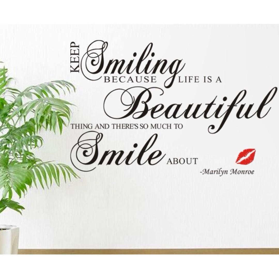 Wording Wall Home Decor Decoration