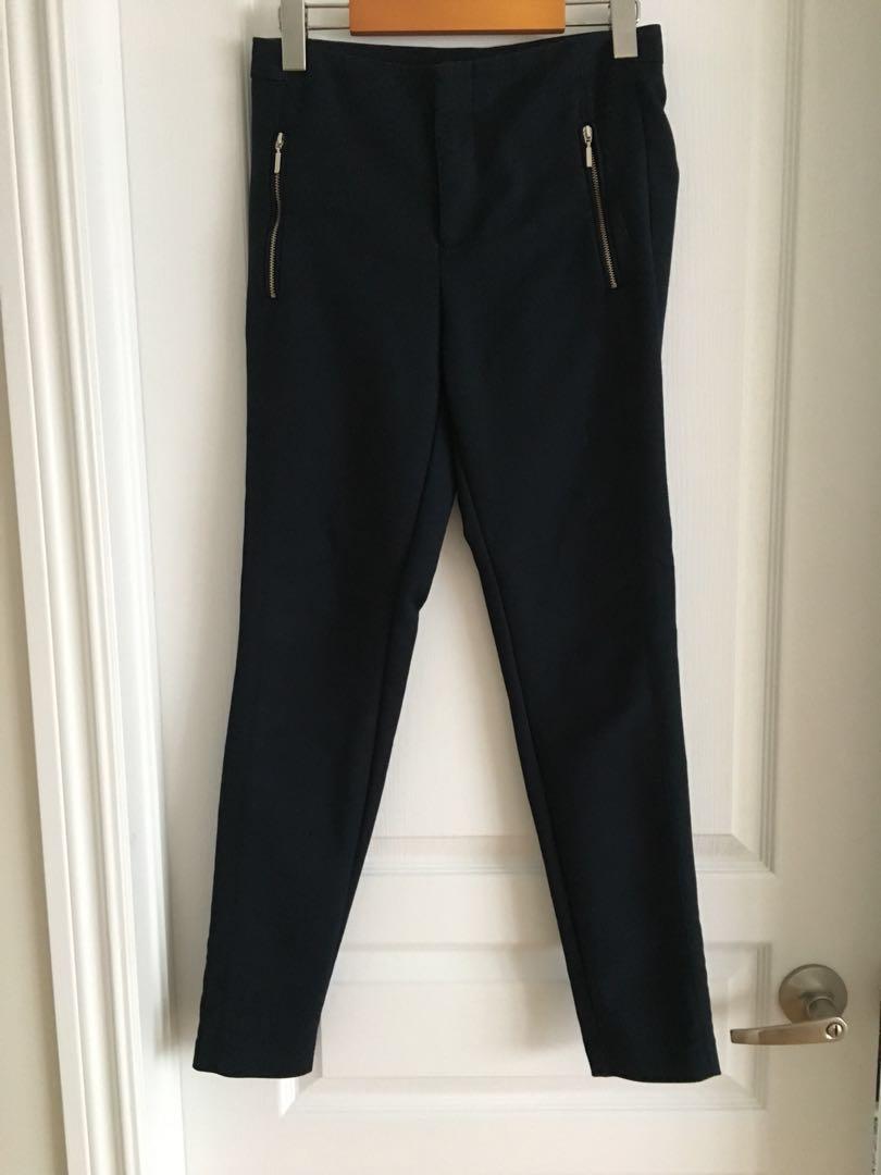 Zara navy pants -XS