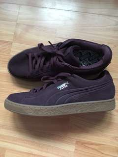 Suede puma shoes