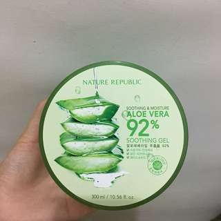 Soothing & moisture aloe vera 92% nature republic