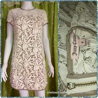 Juicy Couture Lace Guipure Dress