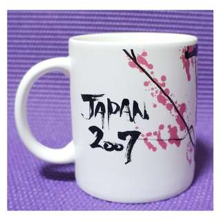 【端午節前任2件物品折扣200】絕版 STARBUCKS 星巴克 日本 2007年 限量新年紀念杯 馬克杯 城市杯