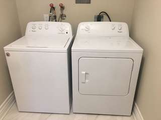 Whirlpool energy efficient washer and dryer like New !!