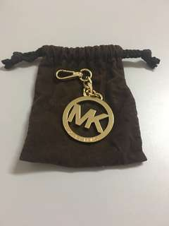💯Authentic Solid Michael Kors keychain