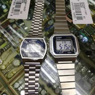 Original Casio Vintage Watches for SALE - Silver