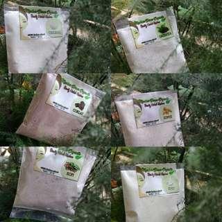 Masker beras organik