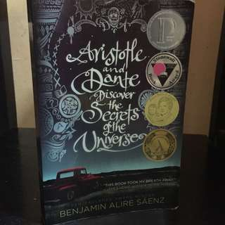 P270 ARISTOTLE AND DANTE DISCOVER THE SECRETS OF THE UNIVERSE by Benjamin Saenz