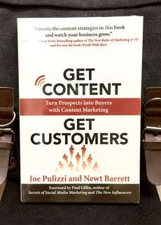 # Highly Recommended《Bran-New + The Content Marketing Strategy On How To Connect To Customers With Compelling Content》Joe Pulizzi & Newt Barrett - GET CONTENT GET CUSTOMERS : Turn Prospects into Buyers with Content Marketing