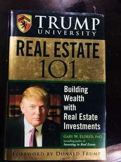 Trump real estate motivation book