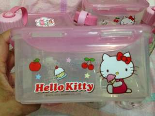 Authentic Lock and Lock HelloKitty limited edition