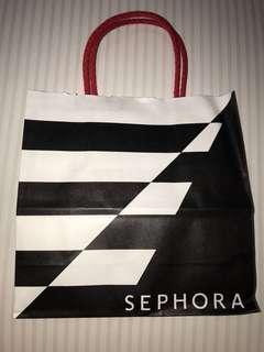 Sephora paperbag