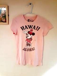 正版迪士尼 米妮 上衣 T-shirt