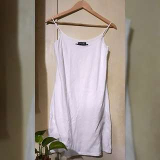 Plains & Prints Basic Essentials White Full Slip