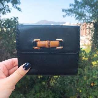 [現貨] Vintage GUCCI Bamboo Wallet連盒