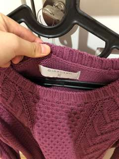 PRELOVED GIORDANO KNIT SWEATER