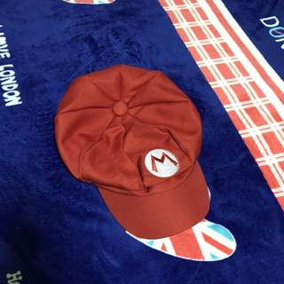 馬力歐報童帽