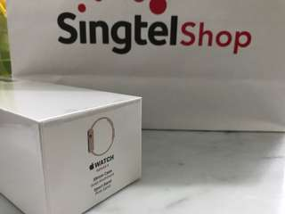 BNIB 38mm iWatch series 3 Gps + Cellular(Singtel)
